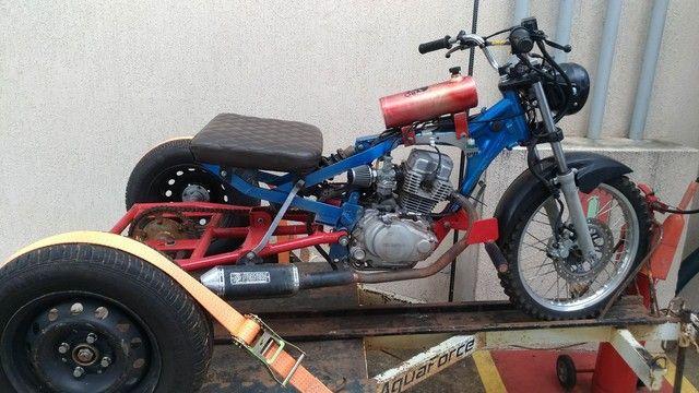 Vendo triciclo e carretinha - Foto 5