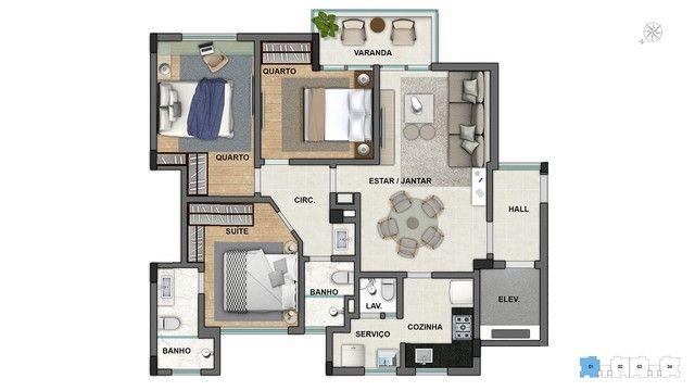 Apartamento à venda com 3 dormitórios em Lourdes, Belo horizonte cod:700993 - Foto 10