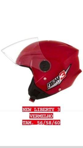 Capacete New liberty 3 - Foto 4