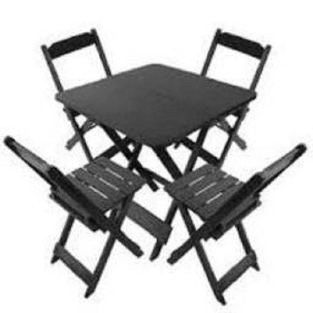 Jogo de Mesa com cadeiras - para Bares ou Restaurantes - Foto 2