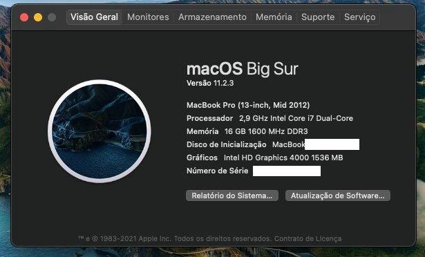 Macbook Pro i7 com 16Gb e Ssd de 240 e 1Tb - Foto 4
