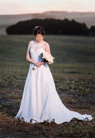 Vestido de noiva manequim 36 - Foto 5