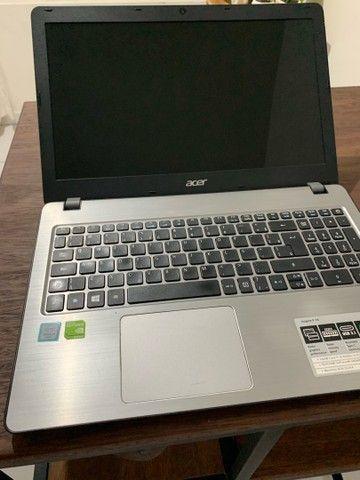 Notebook acer f15 i5 8gb placa de vídeo 940mx gamer - Foto 5
