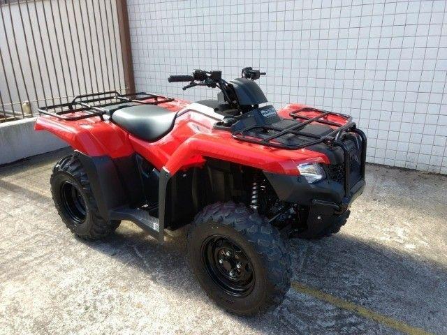 Honda TRX 420 FourTrax 4x4 FM Zerado - Foto 7