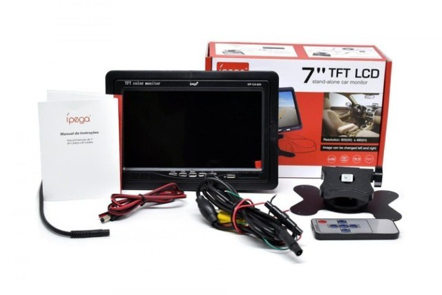 Tela Lcd 7 Polegadas Portátil Monitor Digital                             - Foto 4