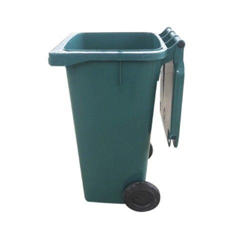 Carrinho Coletor de lixo Plástico sem Pedal 240L