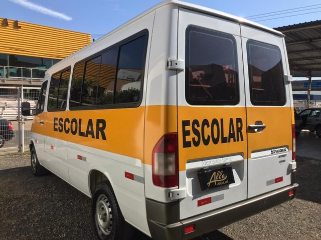 Mercedes-Benz Van Sprinter 313-CDI Street 16 lugares Diesel 2009 Escolar - Foto 7