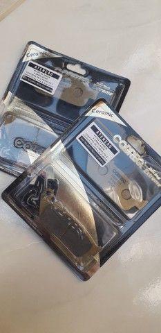 Pastilha de freio 100% Cerâmica s/abs cbr 600f compatível com outras motos