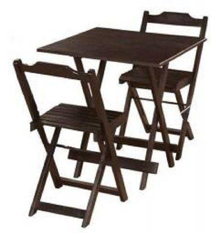 Jogo de Mesa com cadeiras - para Bares ou Restaurantes - Foto 4