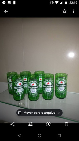 Copos de cerveja Heineken  budiaiser Stela - Foto 5