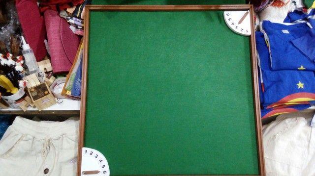 Tabuleiro + relógio para dominó  - Foto 3