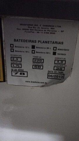 Batedeira 38 litros Brasforno  - Foto 6