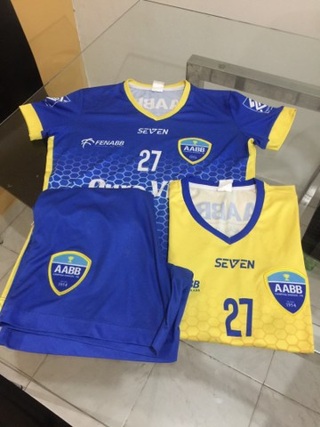 Fardamento Completo Futsal AABB