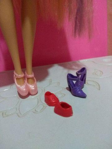 Pacotinho de Sapatinhos pra bonecas Barbie - Foto 5