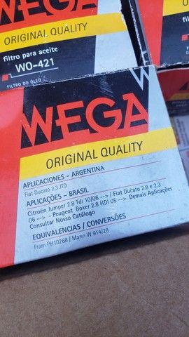 Filtro de óleo WO-421 WEGA ORIGINAL