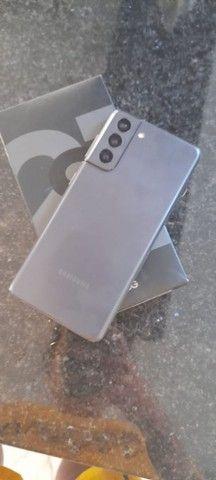 Samsung S21 preto 128 Gb +8gb - Foto 6