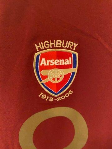 Camisa Arsenal 05-06 Henry - Foto 3