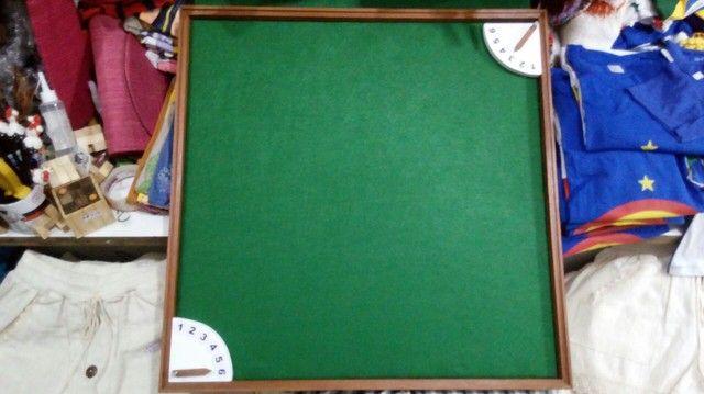 Tabuleiro + relógio para dominó  - Foto 5