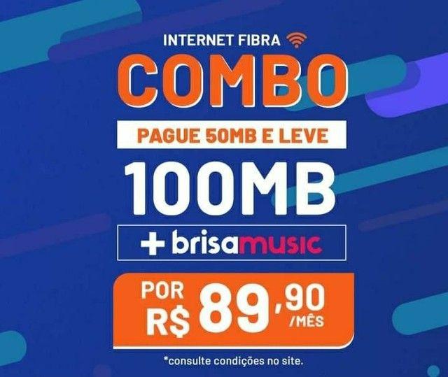 Internet 100% fibra óptica é Brisanet  - Foto 5