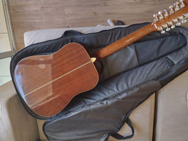 Violão Hofma 12 cordas com equalizador - Foto 3