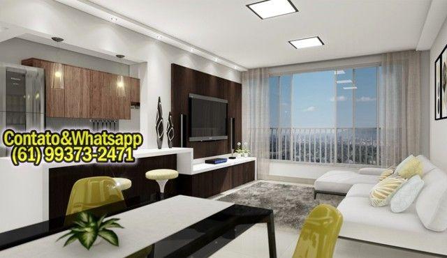 Apartamento em Goiânia, 2Q (1Suíte), 55m2, Garagem, Lazer Completo! Parcela. - Foto 4