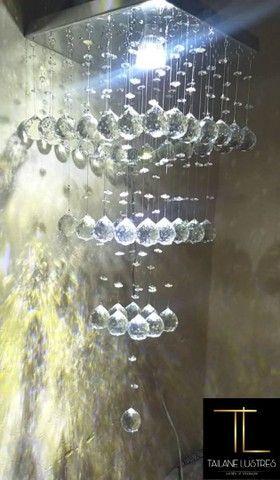 Lustre de Cristal legítimo k9 - Foto 3