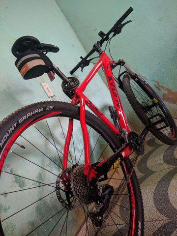 Bicicleta 29 Audax adx 100( Estado de nova) - Foto 5
