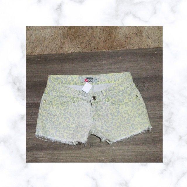Short Jeans de Oncinha tamanho 38. - Foto 2
