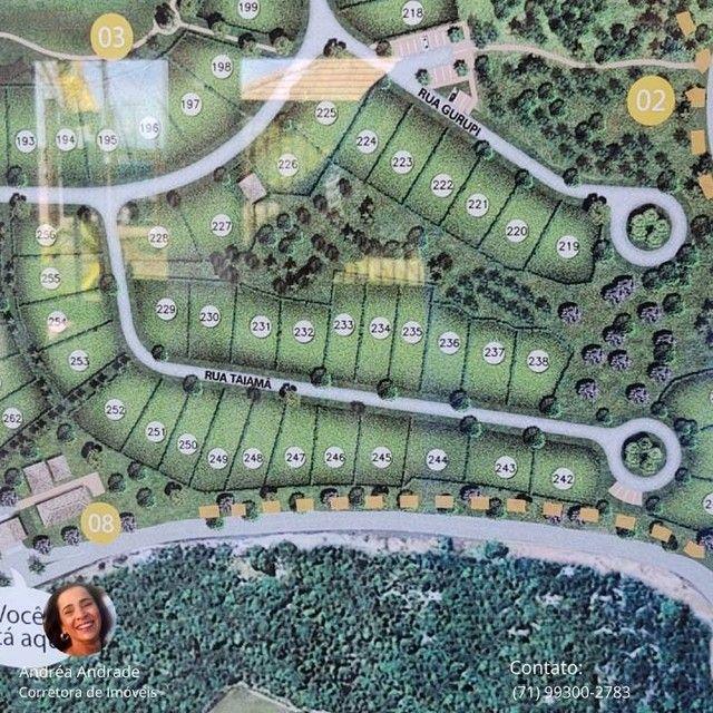 Lote/Terreno para venda com 476m² em Reserva Sauípe - Costa do Sauipe - Foto 19