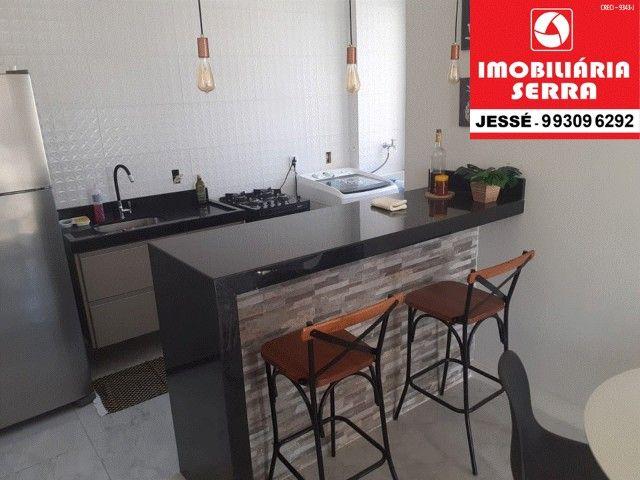 JES 004. Vendo apartamento mobiliado, 63M², 3 quartos. na Serra   - Foto 6