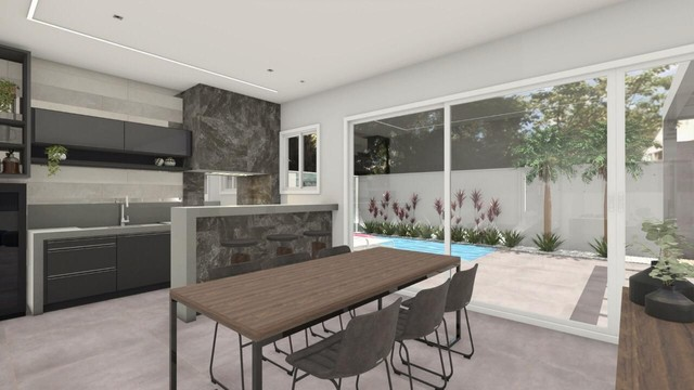 Casa em Condomínio - Mirante do Lago - 4 Quartos - Terrea - 3 Suites