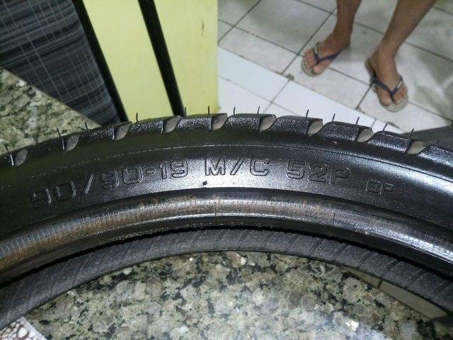 Pneu p moto bros ou xre 190 dianteiro pirelli - Foto 7
