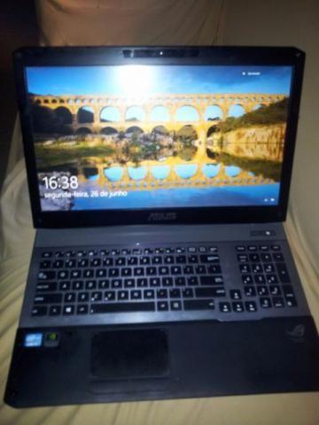 Notebook Asus Rog g75v i7 - 12gb de RAM - Geforce 660m 2gb