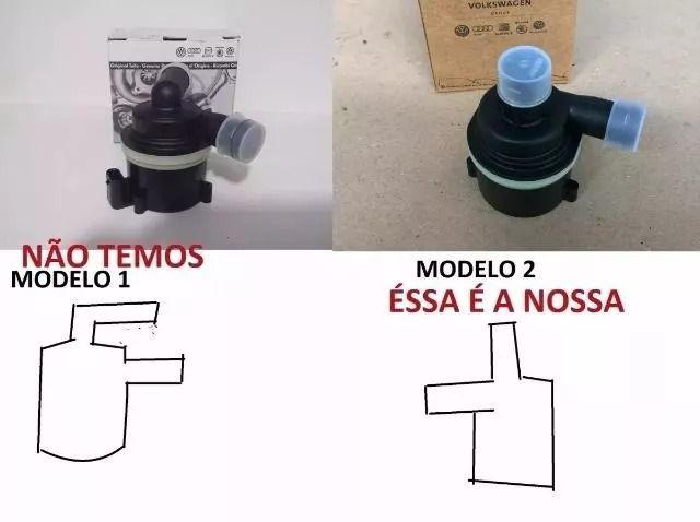 Bomba D'água Auxiliar Amarok 2.0 Diesel 059121012 B Ou A