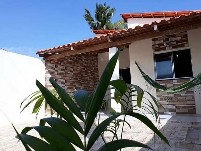 Vende - se Casa de Praia mais terreno em Subauma Linha