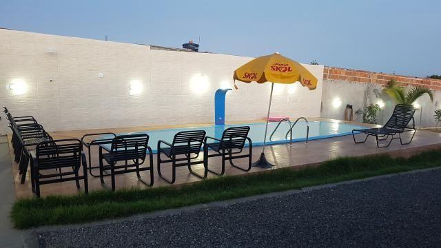 Alugo casa com piscina pra final de semana, em barra do Jacuípe, em condomínio fechado - Foto 2