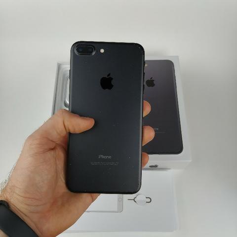 Iphone 7 PluS Preto 32GB!! Acessórios + Garantia - Foto 5