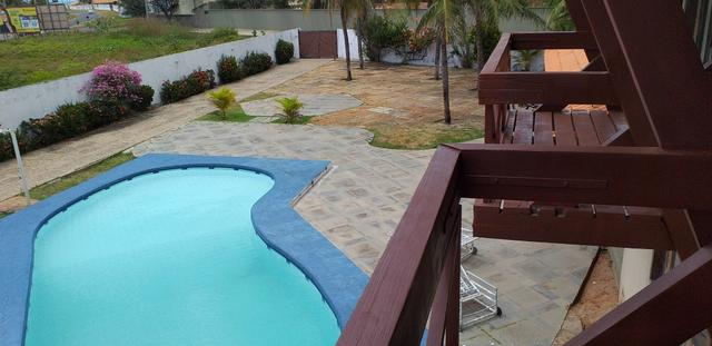 Casa com piscina disponível em luís correia pi.