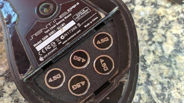 Mouse Cs Storm Sentinel Zero 5600dpi - Foto 3
