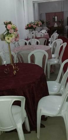 Aluguel de mesas e cadeiras - Foto 2
