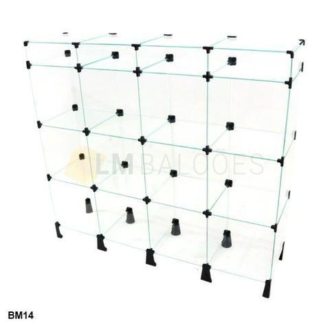 Balcao de vidro com porta bijuterias - 1,20 x 1,10 x 0,30 Promoção - Foto 2