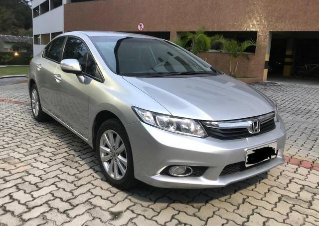 Única dona - Civic 2.0 LXR automático 2014 - Foto 5