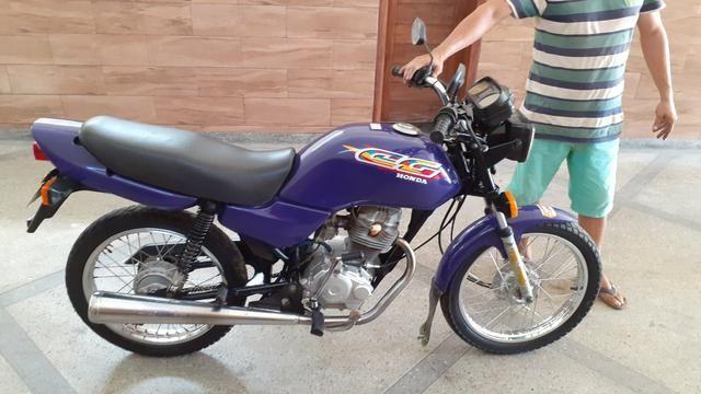Cg 125 ano 98 emplacada relíquia kleyton motos zap *