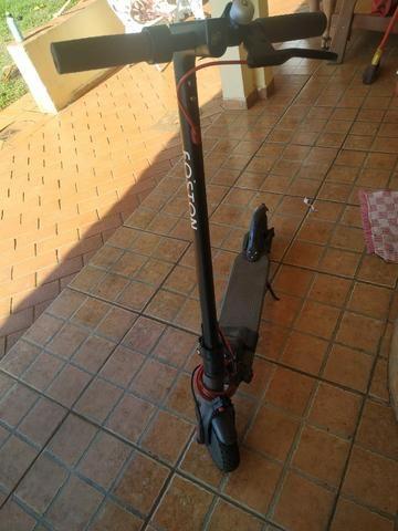 Patinete Foston - Nota fiscal, bateria extra e 2 pneus maciço infuráveis - Foto 3