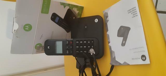 Telefone sem fio Motorola - Foto 2