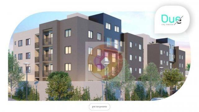 Apartamento com 2 dormitórios à venda, 48 m² por R$ 214.900,00 - Campo Comprido - Curitiba