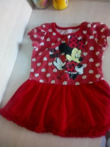 Vestido da Minnie e vestido de borboleta - Foto 3