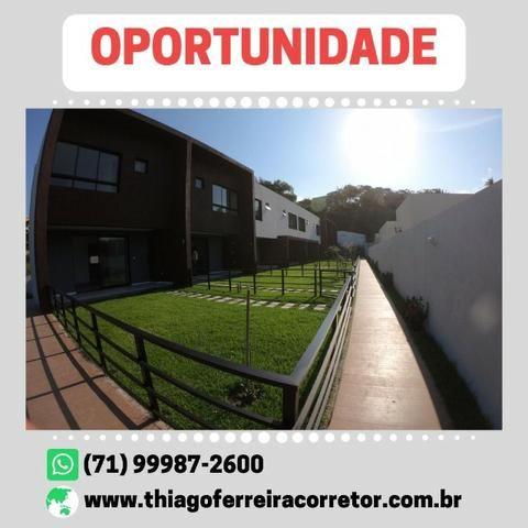 Incomparável Casa com 3 quartos e suíte em 129m² Villa Giardino Patamares - Foto 6