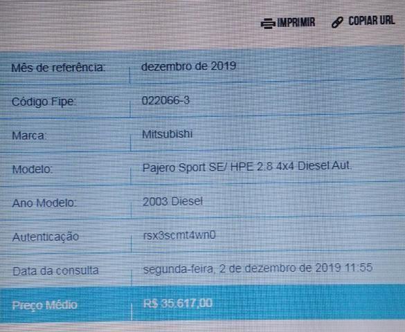 Pajero Sport Diesel Automática - Foto 3
