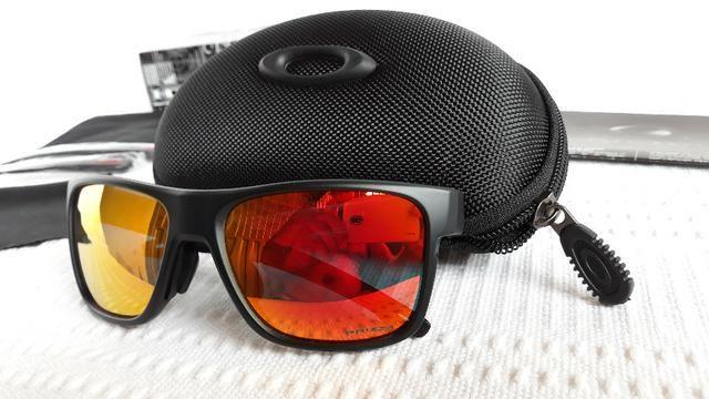 Óculos Oakley Crossrange Xl Preto Rubi Prizm - Importado ... 76fcd8431b